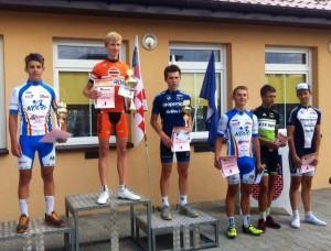 podium Droszew etap
