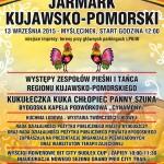 Plakat Jarmarku Kujawsko-Pomorskiego