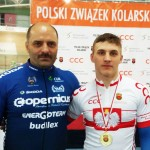Daniel Rochna z trenerem T.Owsianem